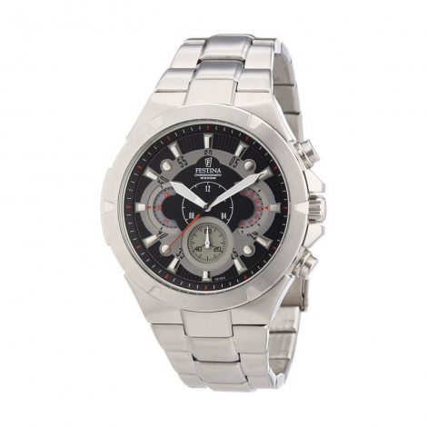 Orologio Uomo FESTINA F6815/1 Cassa e Cinturino Acciaio,Cronografo