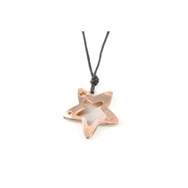 Women's Necklace ONAIS T554 Steel Shape Star Shape