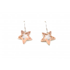 Stainless Steel Women's Earrings ONAIS T558 Star Shape Pendants