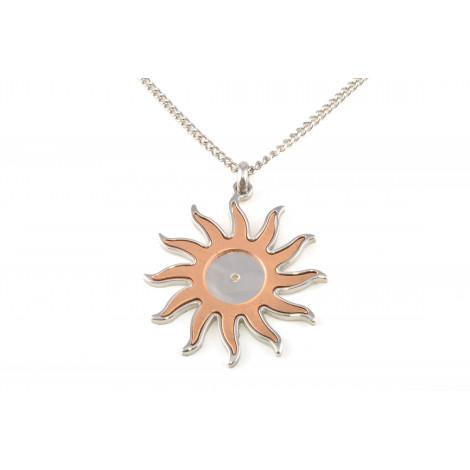 Collana Donna in Acciaio ONAIS W3608 Pendente Forma Sole
