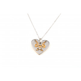 Stainless Steel Necklace ONAIS W5633 with Heart Shape Pendant