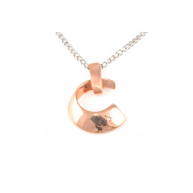 Stainless Steel Necklace ONAIS W7707 Zirconated Pendant
