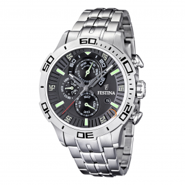 Men's Watch FESTINA F16565 / 3 Steel Case and Bracelet, Chronograph