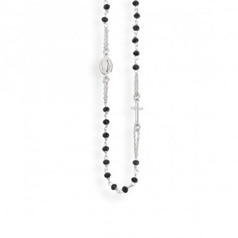 nuovi arrivi cfcce 2ce41 Collana rosario girocollo unisex AMEN CROBN3 ROSARIUM in argento ...