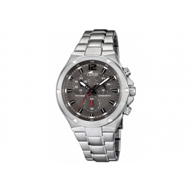 Orologio Uomo LOTUS 10122/2 Cronografo Cassa e Cinturino in Acciaio