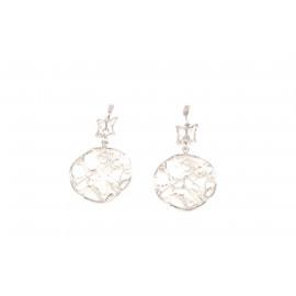 Stainless Steel Women's Earrings ONAIS KF6966 Butterfly Shape Pendants
