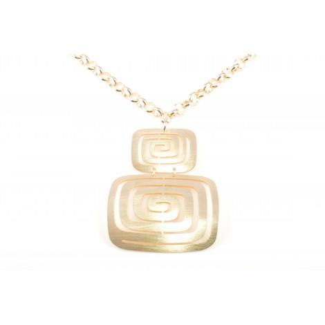 Collana Donna in Acciaio MOOBY VS042-G Colore Oro