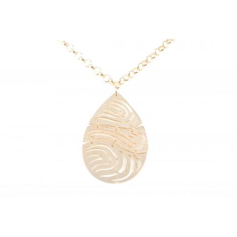 Collana Donna in Acciaio MOOBY VS057-G Colore Oro