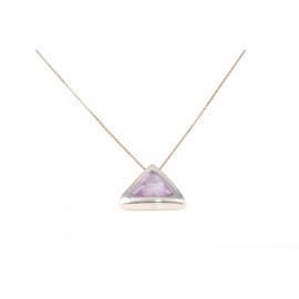 Woman Necklace in Silver ONAIS J6669 Pendant with Amethyst