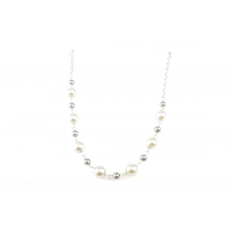 Collana lunga donna KEMIRA KHC 15/1/17 BY GIANNI CARITA' in metallo con perle