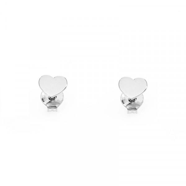 negozio online de3bd 8aad0 Orecchini donna AMEN ORHB in argento 925 a forma di cuore