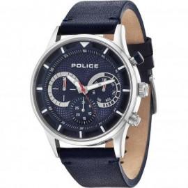 Orologio Uomo Police Datario Cint. blu vetro minerale R1451263002