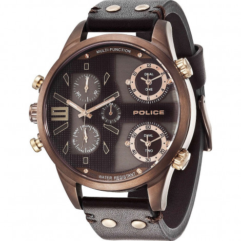 nuovo stile cf57c ac1ea POLICE Multifunction Watch Men cint. Copperhead Skin R1451240003