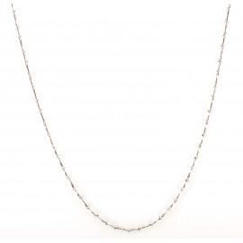 Collana uomo oro bianco peso gr 8,70 G250