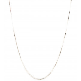 Collana unisex oro bianco peso 4,60 gr G297
