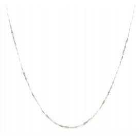 Collana donna oro bianco peso 3,70 gr G660