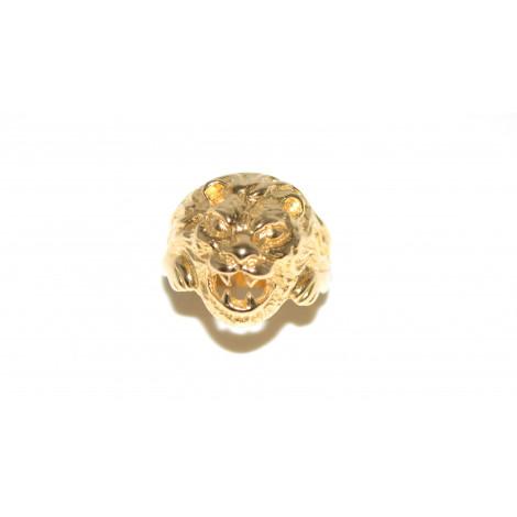 f9cc6b66f28a9d Anello testa di leone oro giallo 18 k peso 16 grlavorata a mano B0010
