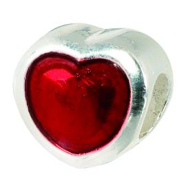 Charms Precious Enamel Beads AMORE&BACI 20632 Argento 925