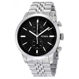 Men's Fossil FS4784 Steel Watch
