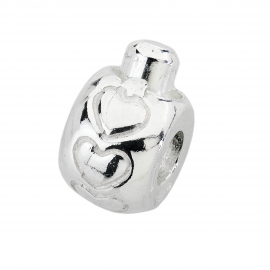 Charms Silver Stoppers AMORE&BACI 1L008 Argento 925
