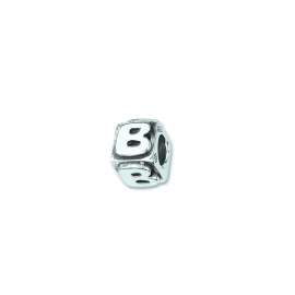Charms Silver Alphabet Beads AMORE&BACI 0100B Argento 925