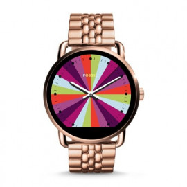 Fossil Orologio Acciaio QWander Touchscreen Rosegold SmartwatchFtw2112