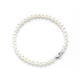 MIKIKO Pearl Bracelet MB0190O4AEBI075 GOLD 18 KT WHITE PERLA 7.5 / 8