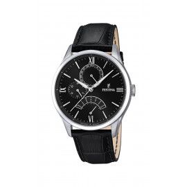 Ancient Festina Men's Watch with F16823 / 4 leather strap