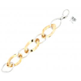 Bracciale Donna Oro Bianco 18Kt maglia a catena peso 15,90 gr S12060