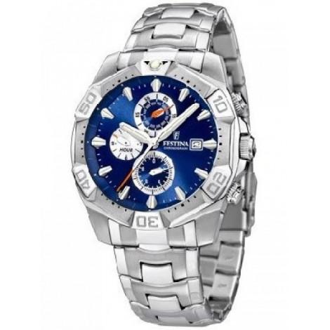 Orologio Uomo FESTINA crono quadrante blu F16286/2