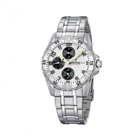 Orologio Uomo FESTINA crono quadrante bianco F16059/A