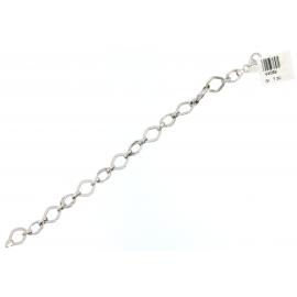 Bracciale Donna Oro Bianco 18Kt con maglie fantasia peso 7,30 gr V4069