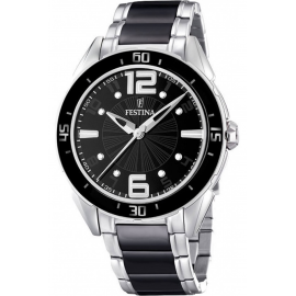 Women's Watch FESTINA F16395 / 2 Steel and Ceramic Case and Strap