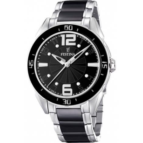 Orologio Donna FESTINA F16395/2 Cassa e Cinturino Acciaio e Ceramica