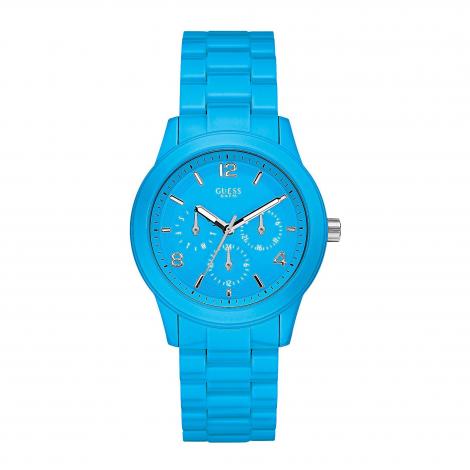 Orologio Donna GUESS W11603L5 Cassa in Acciaio Cinturino in Plastica