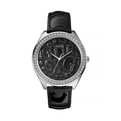 Orologio Donna GUESS W85098L4 Cassa Acciaio Cinturino in Pelle