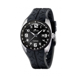 Men's Watch LOTUS 15568/3 Steel Case and Rubber Strap