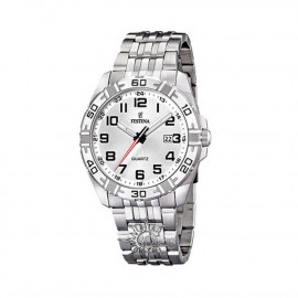 Festina Man F16495 / 1 Steel Watch White