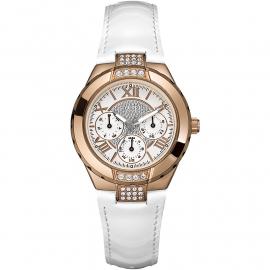 Orologio Donna GUESS W11566L1 Cassa in Acciaio Cinturino in Pelle