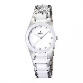 WOMAN WATCH FESTINA ONLY CERAMIC TIME F16534 / 3 White