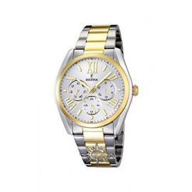 Festina Classic F16751 Men's Watch / 1 Chain Steel / Gold