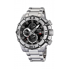 Orologio Uomo FESTINA F16599/3 Cassa e Cinturino in Acciaio,Cronografo