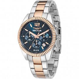 Orologio Uomo Sector Cronografo  R3273676001 - Acciaio / Gold