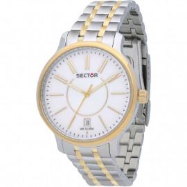 Orologio Donna Sector Solo Tempo 125 R3253593502 - Acciaio / Oro