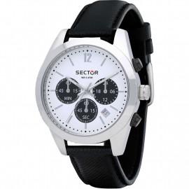 Orologio  Uomo Sector Cronografo 245 R3271786007 - Pelle Nero