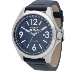 Men's Sector Watch Only Tempo 180 R3251180017 - Blue Leather