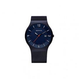 Orologio uomo BERING 14440-393 Classic cinturino in milanaise blue