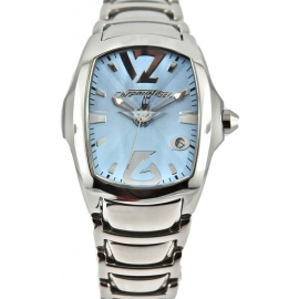 CHRONOTECH Women's Watch CT.7896L / 01M Steel Case and Strap