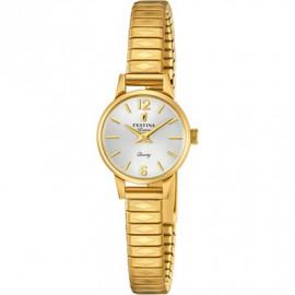 Orologio Donna Festina F20263/1 Extra Acciaio Placcato d'oro