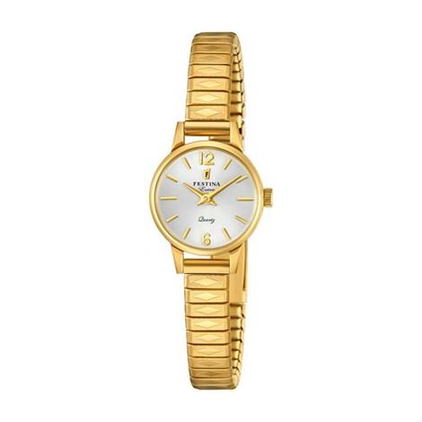 Super Orologio Donna Festina F20263/1 Extra Acciaio Placcato d'oro  LI38
